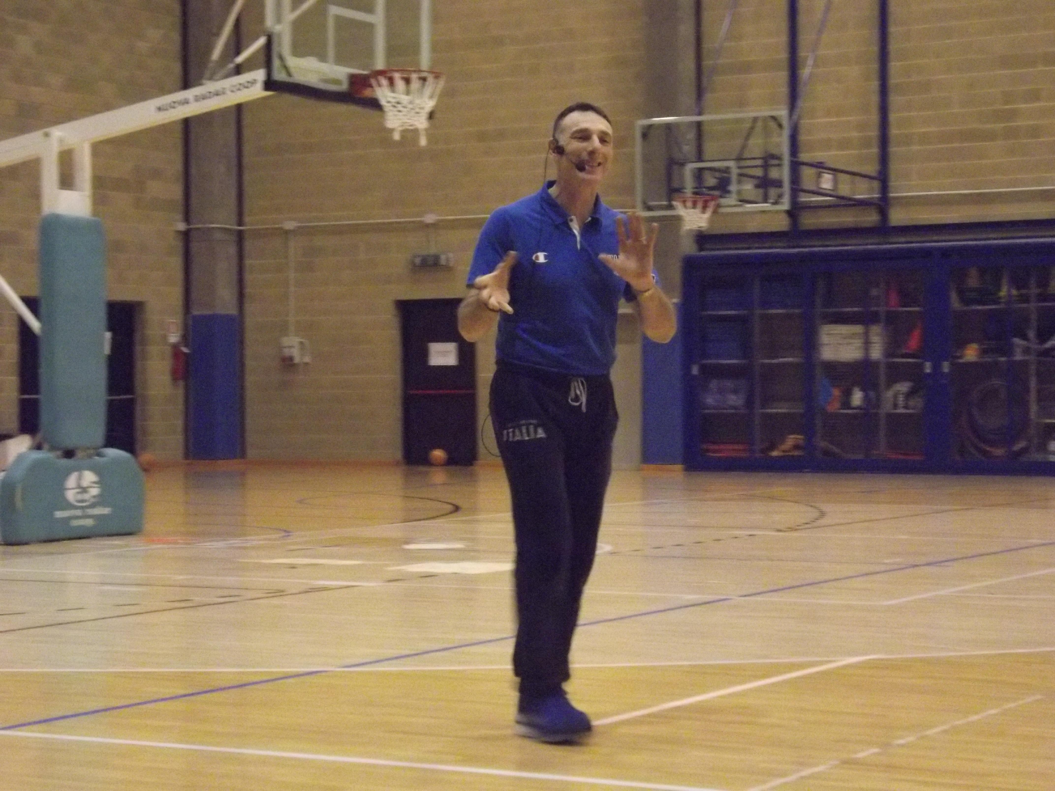 diventare preparatore di basket