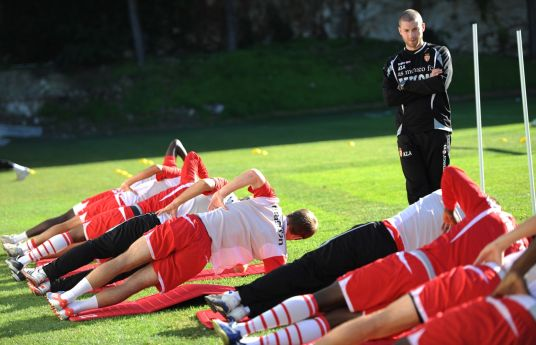allenamento fisico di calcio