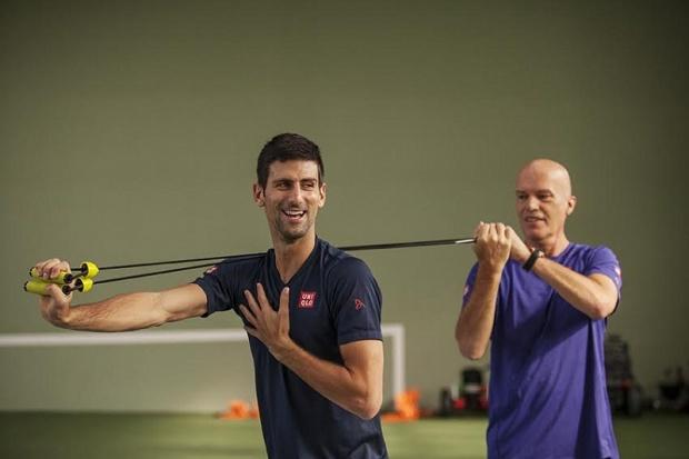 Preparazione atletica di Nole Djokovic