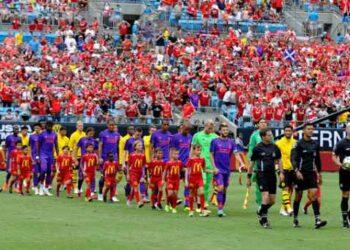 La partita dell'International Champions Cup tra Liverpool e Borussia Dortmund. (Dannie Walls/Icon Sportswire)