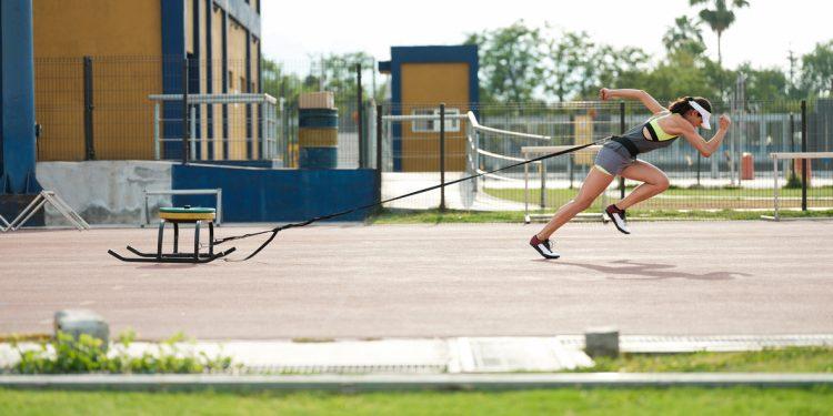 Side View, Athlete, Women, University Student, Equipment, Outdoors, Latin,
