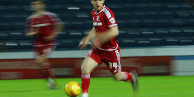 HUDDERSFIELD, ENGLAND - NOVEMBER 28: Adam Forshaw of Middlesbrough FC  during the Sky Bet Championship match between Huddersfield Town FC and Middlesbrough FC on November 28, 2015 in Huddersfield, United Kingdom.  (Photo by Daniel L Smith/Getty Images) *** Local Caption *** Adam Forshaw
